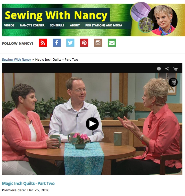 modern quilting made magic sewing with nancy couture 11 Cozy Magic Inch Quilts Sewing With Nancy Inspirations