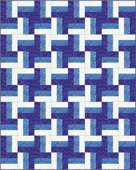 Modern rail fence quilt pattern designs easy beginner quilt Interesting Fence Rail Quilt Pattern Instructions Gallery