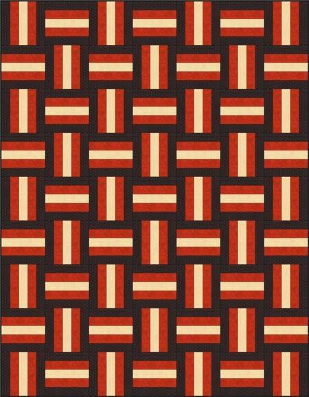 Modern rail fence quilt pattern designs easy beginner quilt pattern 10 Cool Fence Rail Quilt Patterns Gallery