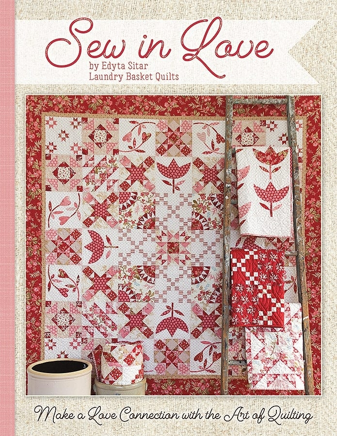 Modern sew in love book edyta sitar of laundry basket quilts for its sew emma ise 923 Beautiful Lovely Laundry Basket Quilts Fabric Inspirations