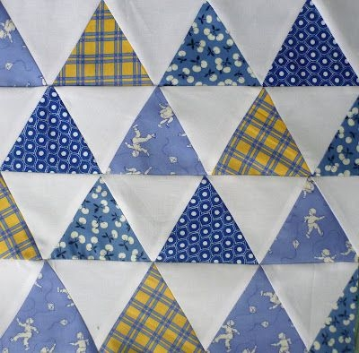 Modern sewn 30 equilateral triangles triangle quilt tutorials 11 Modern Best Triangle Quilt Pattern Inspirations