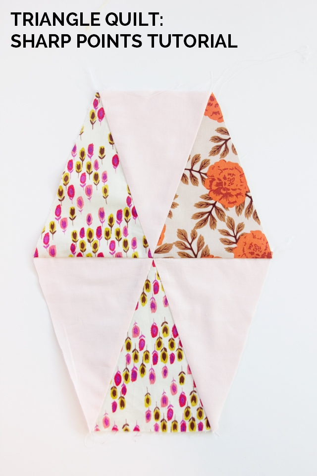 Modern triangle quilt pattern update how to get sharp triangles 11 Modern Best Triangle Quilt Pattern Inspirations