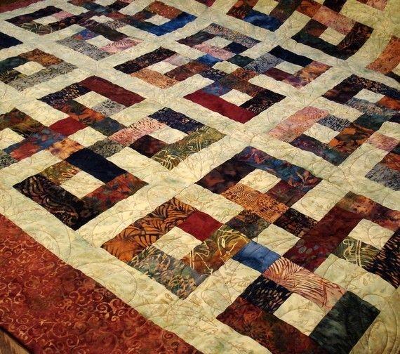 Modern use bali pops quilts batik quilts quilt patterns Unique Waste Knot Quilt Pattern Gallery