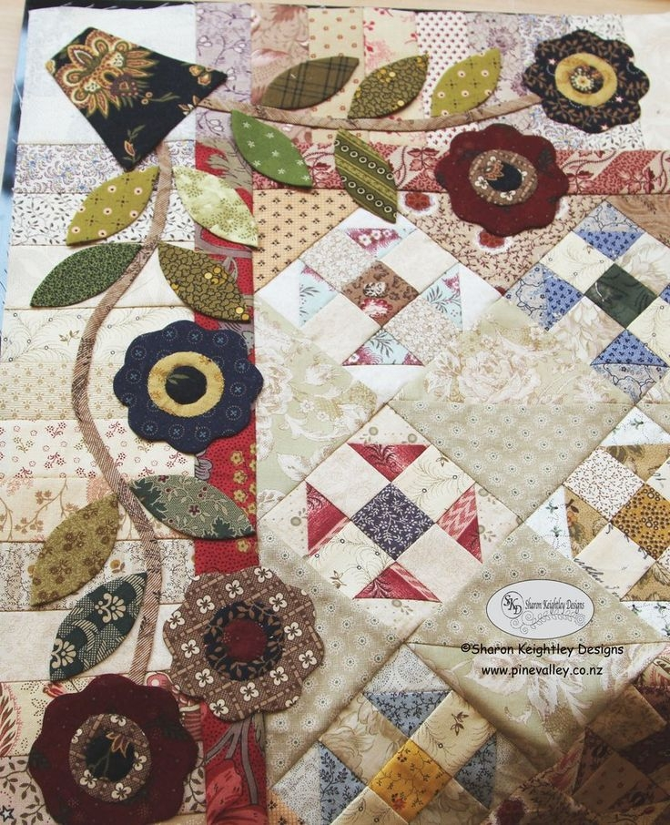 New 1000 images about applique quilts on pinterest applique Stylish Quilting Pinterest