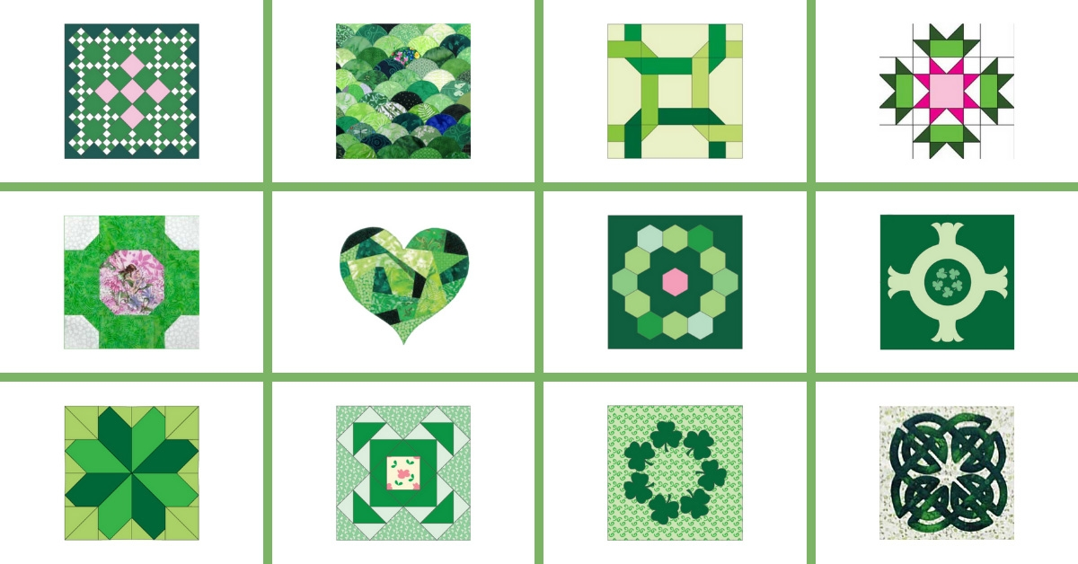 New 12 free quilt block designs for irish quilt patterns 9 Unique Patterns For Quilting Quilts