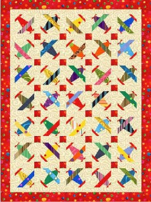 New airplane quilt so heres what im not crazy about the link Stylish Airplane Quilt Block Pattern