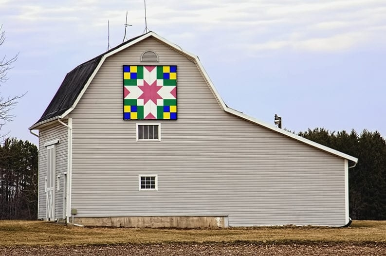 New barn quilts heres what they mean and where they came from New Barn Quilt Patterns Meanings Gallery