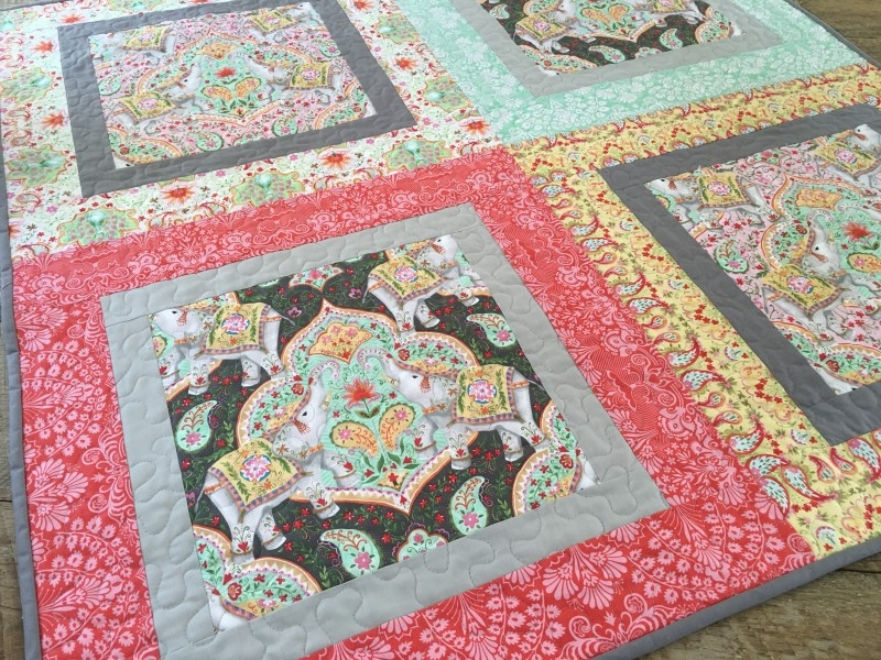 New big print ba quilt free quilt pattern Large Print Fabric Quilt Patterns