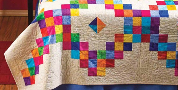 New brighten a room with this colorful quilt quilting digest 10 Modern Colorful Quilt Patterns Inspirations