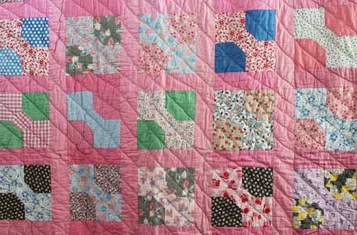 New discover vintage america covering quilts 11 Cool Dimensional Bow Tie Quilt Pattern Inspirations