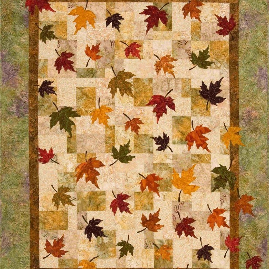 New falling leaves quilt pattern the virginia quilter quilts 9 Interesting Falling Leaves Quilt Pattern Gallery