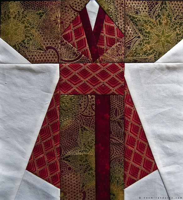 New finished kimono quilt blocks japanese quilt patterns 10 Cool Kimono Quilt Paper Piecing