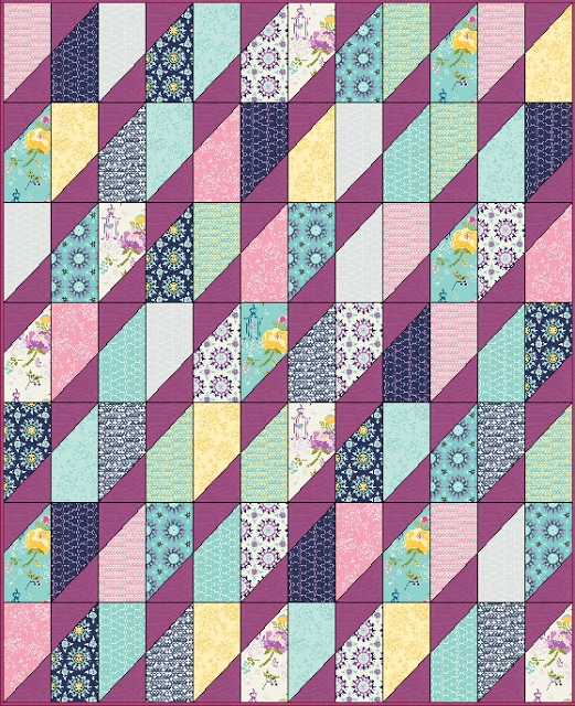 New free tutorial precious gem quilt 10 Interesting Gemstomes Quilt Pattern Free