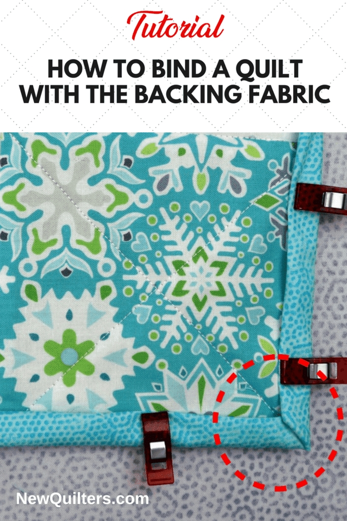 New how to self bind a quilt new quilters 9 Stylish Sewing Binding On Quilt