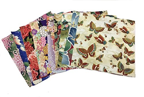 New japanese asian quilting fabric 20 10 charm pack squares variety pack 9 Elegant Asian Quilt Fabric Gallery