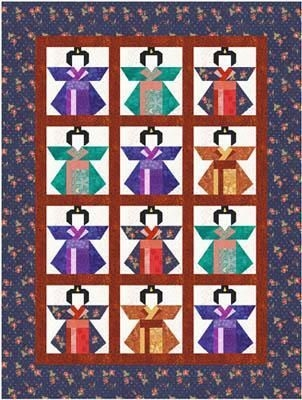 New kimonos quilt pattern the virginia quilter japanese 10 Cool Kimono Quilt Paper Piecing