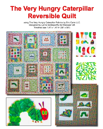New lilys quilts the very hungry caterpillar quilt 11 Beautiful Very Hungry Caterpillar Quilt Pattern Gallery