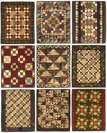 New lori smith quilts from my heart to your hands 9 Stylish Reproduction Quilt Patterns Inspirations