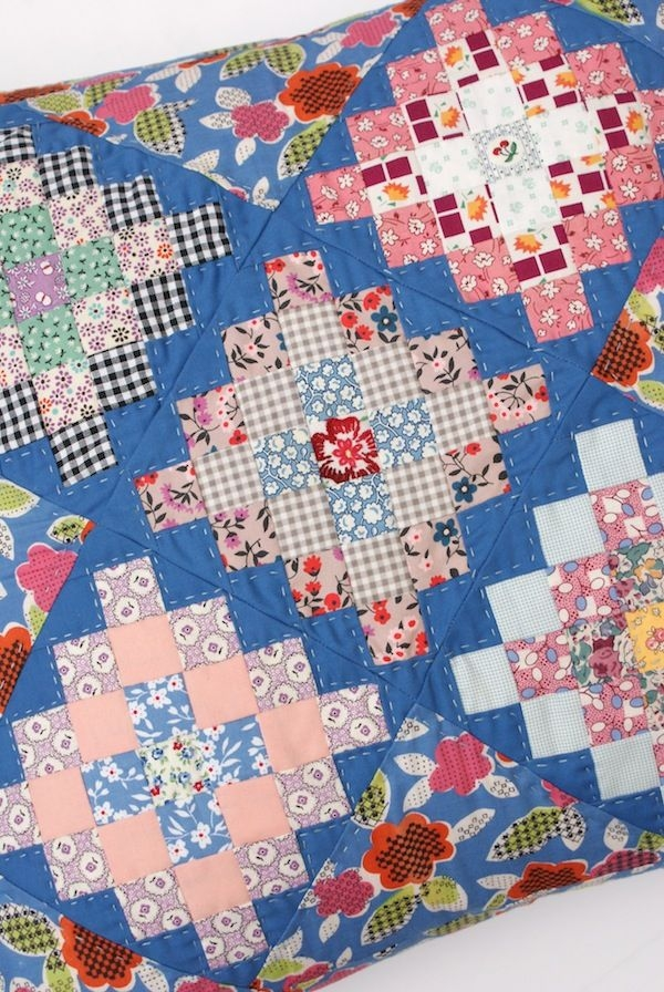 New messyjesse a quilt blog jessie fincham granny square 10 Cozy Granny Square Quilt Block Pattern Gallery