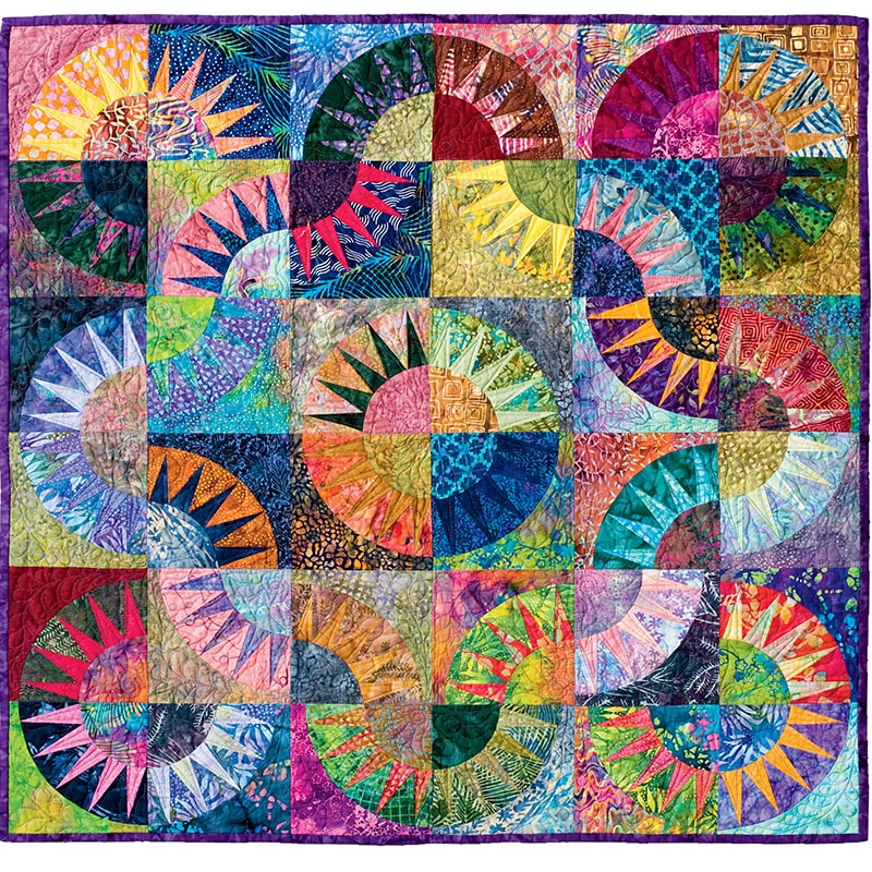 New new york beauty simplified Stylish New York Beauty Quilt Pattern Inspirations