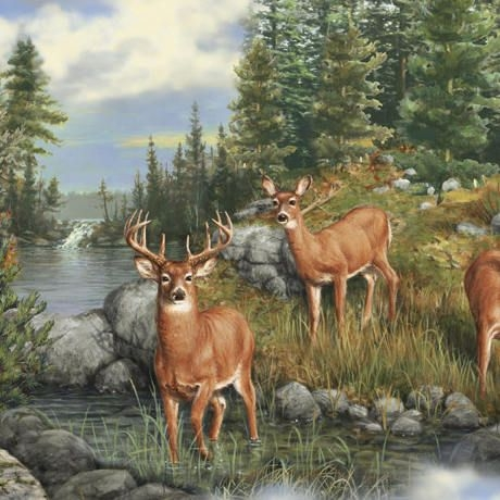 New pin on animal fabrics 11 Modern Deer Fabric For Quilting Inspirations
