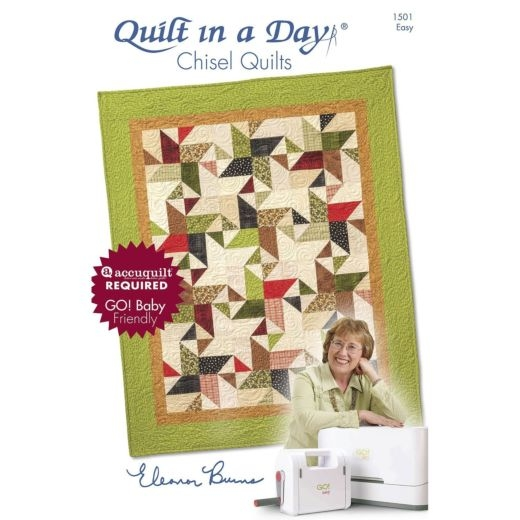New quilt in a day chisel quilt pattern booklet eleanor burns 11 Modern Eleanor Burns Quilt Patterns