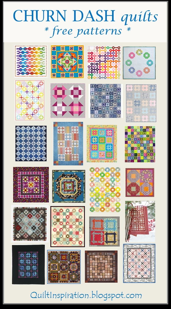 New quilt inspiration free pattern day shoo fly and churn dash 10 Beautiful Vintage Churn Dash Quilt Pattern Inspirations