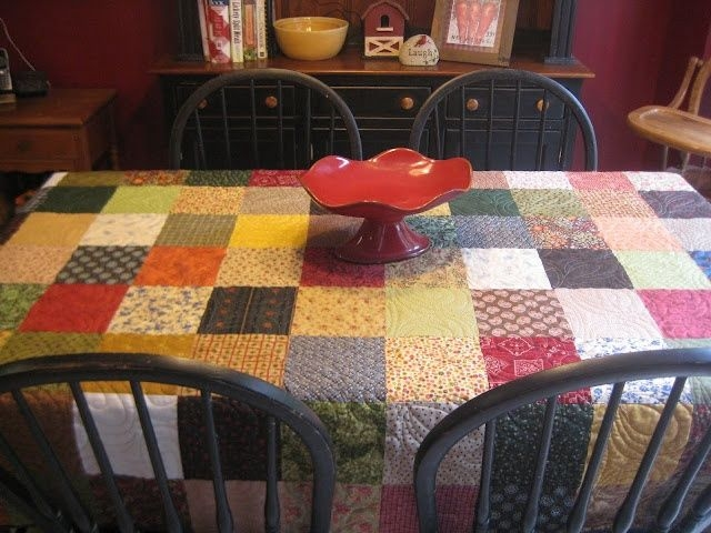 10   Quilted Tablecloth Patterns Gallery