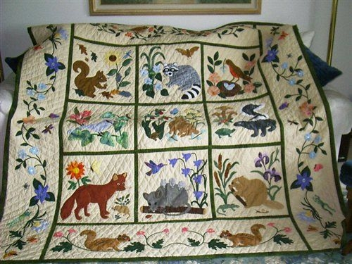 New the grand tour how to use the site woodland quilt 11 Cozy Woodland Creatures Quilt Pattern Inspirations