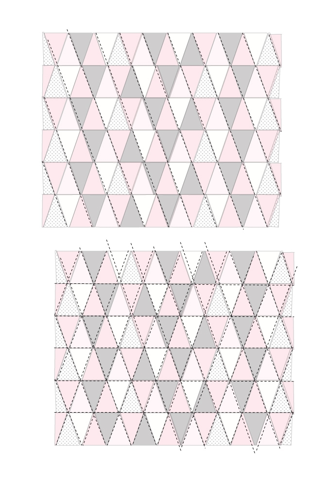 New triangle quilt pattern update how to get sharp triangles 11 Modern Best Triangle Quilt Pattern Inspirations