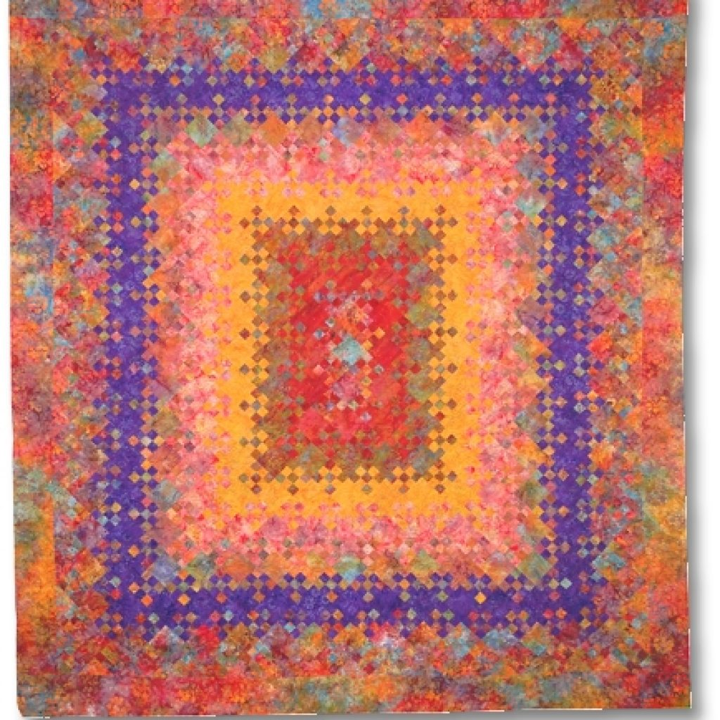 quilt inspiration blooming nine patch a perennial favorite Cozy Blooming Nine Patch Quilt Pattern Inspirations