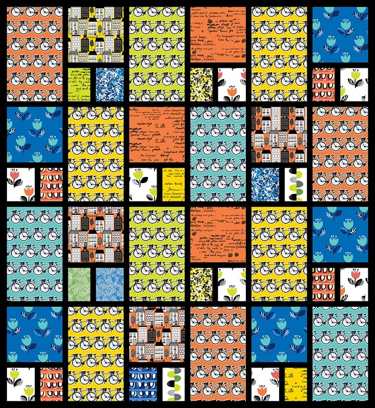 quilt inspiration free pattern day stained glass quilts 11 New De Novo Quilt Pattern Inspirations