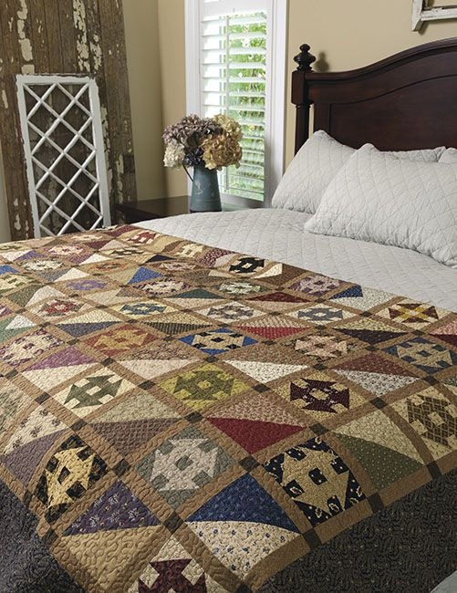 step back in time turn reproduction prints into vintage 11 Interesting Vintage Inspired Quilts Inspirations