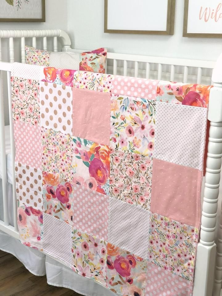 Stylish a lovely patchwork blanket just like my grandmother used to 11 Cozy Beautiful Pre Quilted Baby Fabric Inspiration Gallery