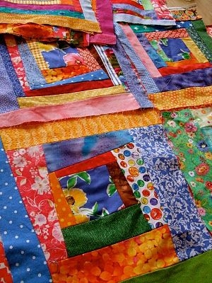 Stylish crazy log cabin quilting crazy quilts log cabin quilt 11 New Crazy Log Cabin Quilt Pattern