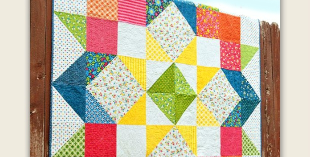 Stylish create a striking quilt with this versatile pattern 11 Stylish Layer Cake Quilt Patterns By Moda