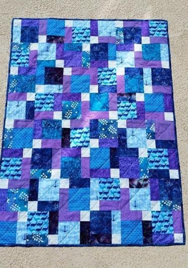 Stylish disappearing 9 patch ba quilt bluprint New Disappearing 9 Patch Quilt Pattern Inspirations