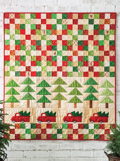 Stylish exclusively annies quilt designs tree time quilt pattern 10 Cool Pieced Tree Quilt Patterns Inspirations