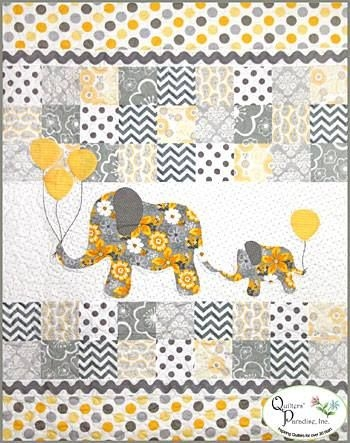 Stylish fan friday gray matters quilt from quilters paradise 10 Beautiful Quilting Fabric Elephant Print Ideas Gallery
