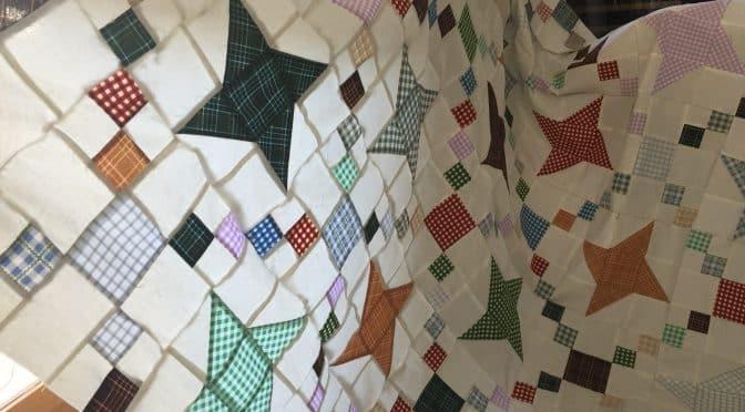 Stylish fettered friendship stars quilt pattern susies scraps 10 New Vintage Friendship Quilt