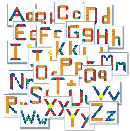 Stylish free alphabet pattern block printables confessions of a 11 Interesting Alphabet Quilt Block Patterns Gallery
