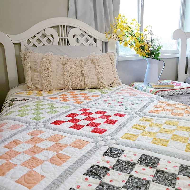 Stylish free jelly roll quilt pattern quilting a quilting life Patchwork Quilt Patterns