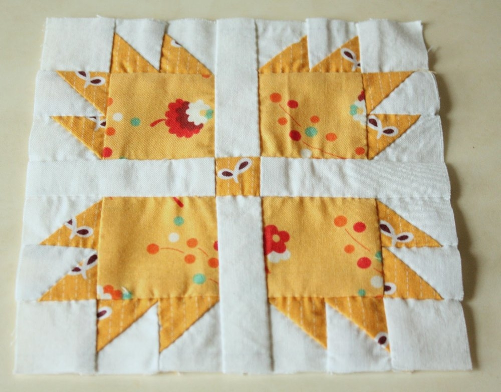 Stylish free tutorial hand pieced quilt along blocks erin New Hand Pieced Quilt Patterns