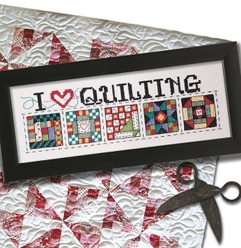 Stylish i love quilting e delivery New Quilt Cross Stitch Patterns Gallery