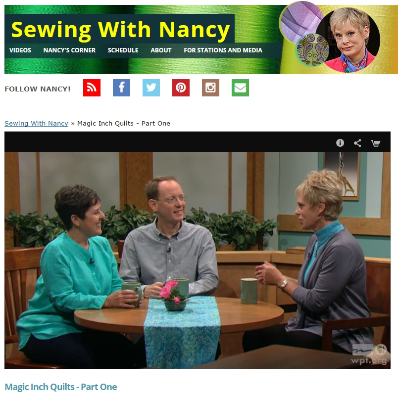 Stylish join ringle and kerr as they share magic inch quilts with 11 Cozy Magic Inch Quilts Sewing With Nancy Inspirations