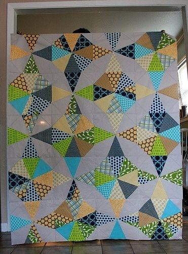 Stylish kaleidoscope quilt layout love this layout cg tyi 11 Cozy Kaleidoscope Quilt Layout Ideas Gallery