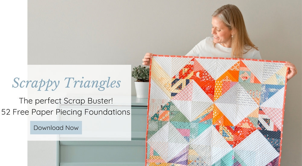 Stylish leila gardunia 11 Modern Triangle Free Quilts Inspirations