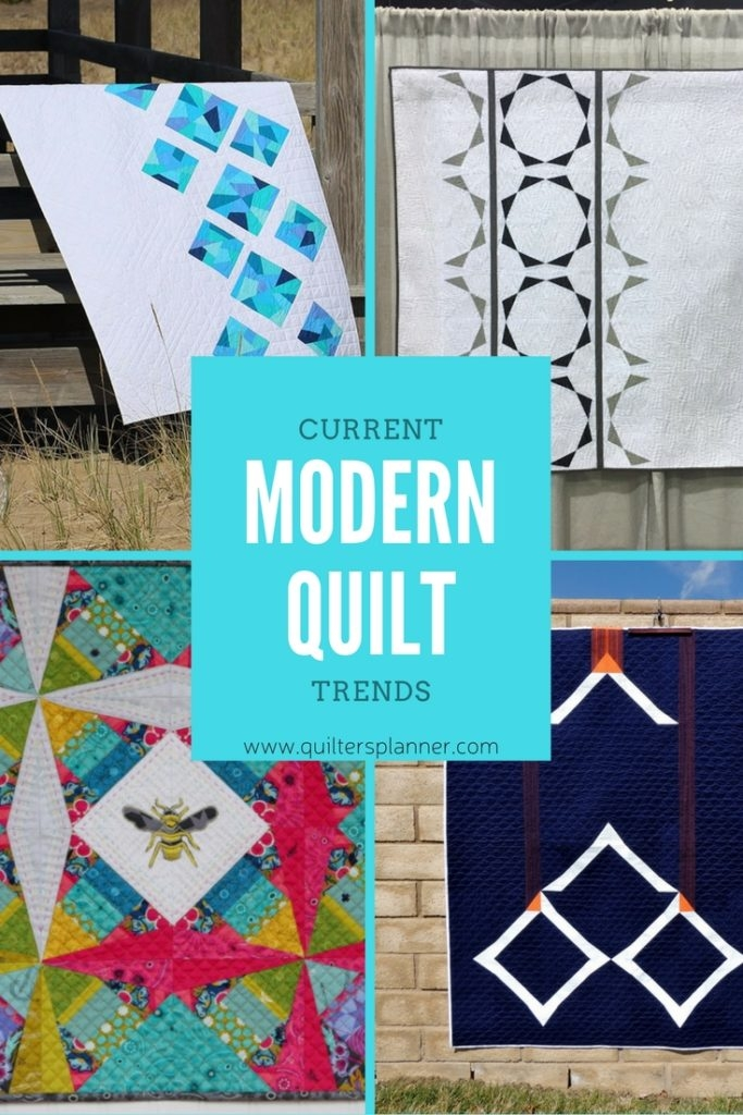 Stylish modern quilt trends and inspiration the quilters planner Elegant Modern Quilt Trends Gallery