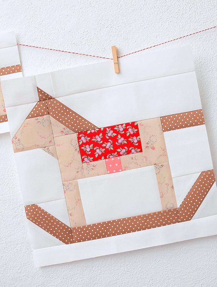 Stylish new christmas quilt pattern rocking horse quilt block 10 Cool Rocking Horse Quilt Pattern