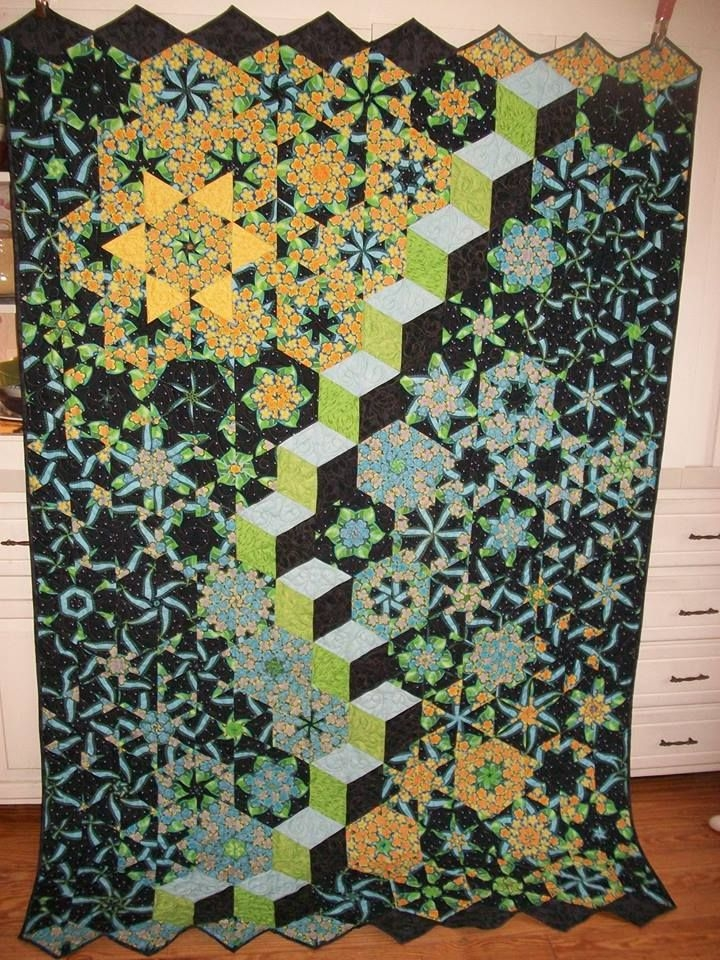 Stylish one block wonder quilt forum tumbling blocks quilt one Interesting One Block Wonder Quilt Pattern